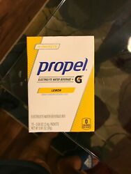 Propel 12 boxes of propel powder pouches $17.00