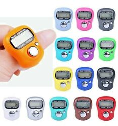 Digit Digital LCD Electronic Golf Finger Hand Ring Knitting Row Tally Counter us $7.66