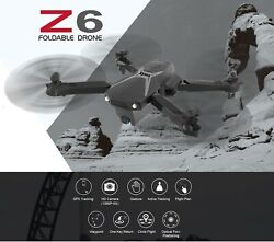 SYMA Z6 GPS 4K 5G Foldable positioning quadcopter FPV Aerial HD Camera RC Drone $176.99