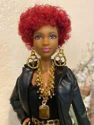 Handmade Jewelry for Barbie Tiger Eye Necklace and Earrings