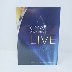 CMA Awards Live Greatest Moments 1968 2015 Time Life 10 DVD Set NEW amp;Memory Book