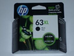 HP 63xl black ink cartridge new expires Dec 2022