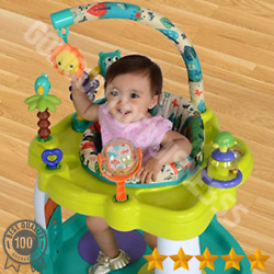 Baby Bouncer Activity Center Jumper With 360 Degree Rotating Seat Play Toy Bar $65.05