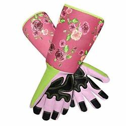 Long Sleeve Gardening Gloves Pruning Thornproof Garden Gloves with Extra Floral $22.27