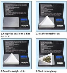 New electronic scale for small jewelry kitchen food 1000g x 0.1g $8.22