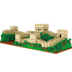 4114Pcs Great Wall Building Blocks DIY Famous Architecture Toys for Kids $90.99