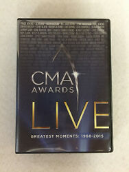 CMA Awards Live Greatest Moments: 1968 2015 10 Disc DVD Set
