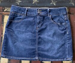 Old Navy Womens Denim Skirt 14 $14.99