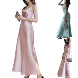 Women Sleeveless Long Dress Evening Party Formal Bridesmaid Wedding Maxi Dresses $22.59