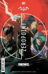 BATMAN FORTNITE ZERO POINT #1 Sealed w Harley Code Skin DC Comic 1st Print $27.99