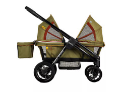 FACTORY NEW Evenflo Pivot Xplore All Terrain Double Stroller Wagon Khaki $399.00