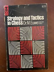 Strategy and Tactics in Chess by World Champion Max Euwe. Classic Paperback $7.50