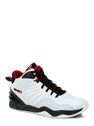 ***NEW MENS AND1 CAPITAL 4.0 WHITE RED BLACK ATHLETIC BASKETBALL SHOES SNEAKERS $28.04