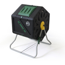 Miracle Gro 28 Gal. Tumbling Garden Waste Soil Composter With Hand Tool Kit $78.99