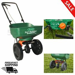 MINI BROADCAST SEED FERTILIZER SPREADER LAWN Calibrated Ready To Use Garden Home $45.98