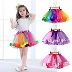 For Girls Kids Dresses Birthday Party Wear Princess Girl Tutu Gown $4.99