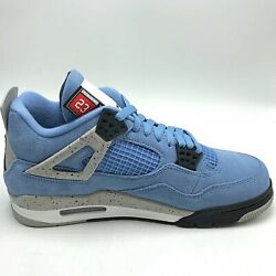 Nike Air Jordan 4 Retro University Blue Men#x27;s Shoes CT8527 400 IN HAND