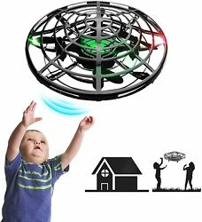 Hand Operated Mini Drones for Kids Adults with Shinning LED Lights Small Drone $25.54