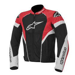 NEW MEN#x27;S ALPINESTARS COWHIDE MOTORCYCLE RACING LEATHER JACKET ALL SIZES $155.99