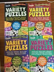 PENNY PRESS DELL VARIETY PUZZLES AND GAMES MANY TO CHOOSE DISCOUNT ON MULTIPLES $14.00