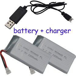 3.7V 1800mAh 25C Li po battery for YX693 1 YX709 1 JJRC Drone Helicopters 903465 $43.80