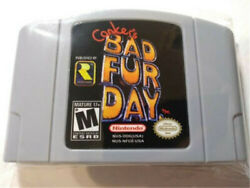 """Conkers Bad Fur Day FOR Nintendo 64 N64""""Reproduction""""Brand New $21.89"""
