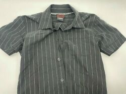 Boys Dress Shirt By Hawk Size Small Button Up Stripes FAST SHIPPING $9.95