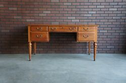 Desk Writing Desk Vintage Desk Country Crossings Desk by Ethan Allen $1795.00