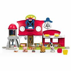 Little People Caring For Animals Farm Playset with Farmer Jed Figure $23.99