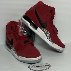 NEW Nike Air Jordan Legacy 312 GS Toro Red Boys Youth Shoes Size 4.5Y AT4040 601 $89.99