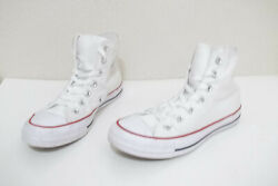 *CONVERSE CHUCK TAYLOR ALL STAR WOMEN#x27;S SIZE 6.5 WHITE HIGH TOPS SNEAKERS SHOES $28.99