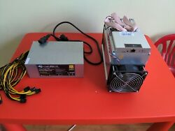 Bitmain Antminer T9 amp; New 1800W PSU BITCOIN Miner 10.5THs TURN KEY PLUG amp; MINE $650.00