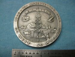 Wyoming 75th Anniversary Medal 1890 1965 .999 Silver Medallic Art Co. $80.00