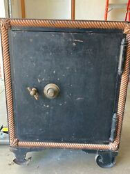 Antique Floor safe 24 x 27 x 37quot; Tall 1800s early 1900s Macneale amp; Urban ? $425.00