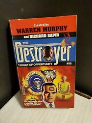 The Destroyer Target of Opportunity #98 Warren Murphy First Edition 1995 Good $5.50