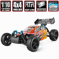 HSP 1:10 RC Nitro Gas Power 4WD Car Two Speed Off Road Buggy Remote Control Toys $289.40