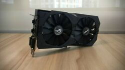 Refurbished AMD ASUS ROG STRIX Radeon RX 570 4GB GDDR5 GPU Graphics Card $289.00