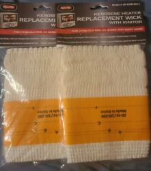 Lot Of 2 NEW DYNA GLO Kerosene Replacement Wick with Ignitor SP KHW 055 I $7.99