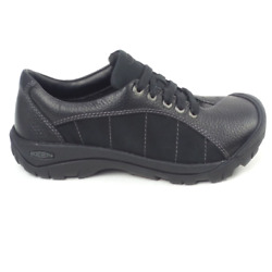 KEEN Leather Lace Up Shoes Presidio Black $54.99