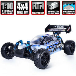 HSP 1:10 RC Nitro Gas Power 4WD Car Two Speed Off Road Buggy Remote Control Toys $390.40