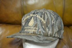 Vintage Tree Camo Snapback Trucker Hat Camo Cap Made in USA $9.29