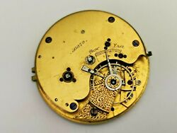 Antique Fusee Pocket Watch Movement for Restoration Parts Antique Movement GBP 19.99