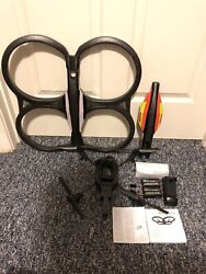 Parrot AR Drone 2.0 with 2 Batteries Works Battery Charger Instruction Booklet $50.00