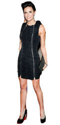 Carven Stunning Black Cocktail Party Dress Brand New IT 40 10 UK