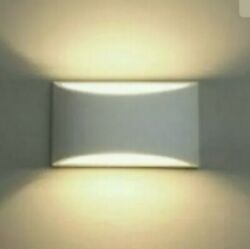 Plaster Wall Light Modern Sconce Warm White Wall Sconce 1 pack $24.99