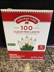 HOLIDAY CHRISTMAS LIGHTS green wire