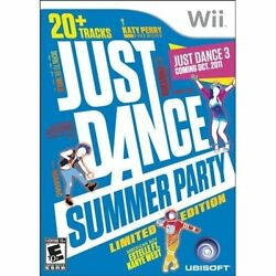 Just Dance Summer Party For Wii Music Very Good 3E $9.85