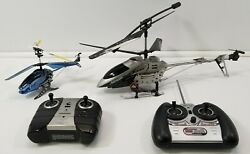Lot of 2 RC Helicopters Propel Gyropter Advanced LS 208 $9.99