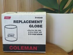 Vintage NOS New Coleman Lantern Replacement Glass Globe 214A0461 in box $25.00