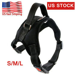 No Pull Dog Pet Harness Adjustable Control Vest Dogs Reflective S M L Outdoor US $8.99